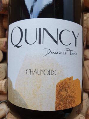 Jean Tatin - Domaine de Tremblay Quincy Chaumoux 2017