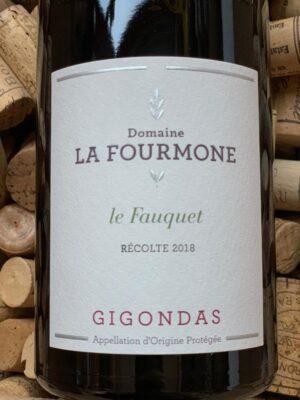 Domaine La Fourmone Gigondas Le Fauquet 2018