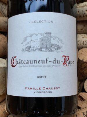 Mas de Boislauzon Chateauneuf du Pape Selection Chaussy 2017