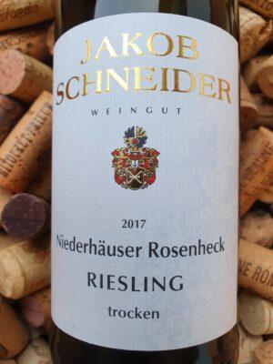 Jakob Schneider Riesling trocken Niederhäuser Hermannshöhle Nahe 2017