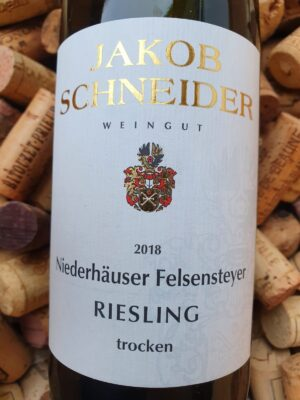 Jakob Schneider Riesling trocken Niederhäuser Felsensteyer Nahe 2018