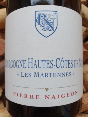 Pierre Naigeon Bourgogne Hautes Cotes de Nuits Martennes 2017