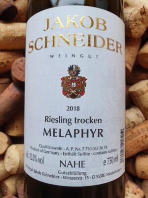Jakob Schneider Riesling trocken Melaphyr Nahe 2018