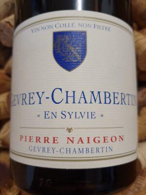 Pierre Naigeon Gevrey Chambertin En Sylvie 2016