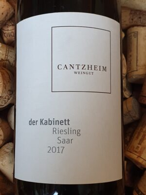 Weingut Cantzheim Riesling Der Kabinett Saar 2017