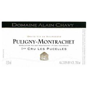 Alain Chavy Puligny Montrachet Premier Cru Les Pucelles 2018