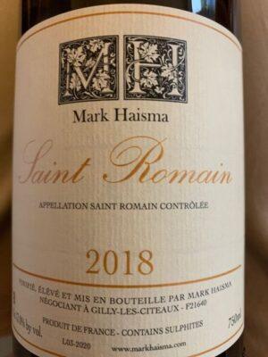 Mark Haisma Saint Romain 2018