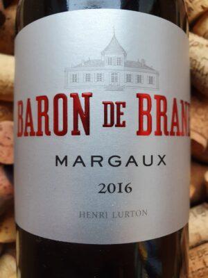 Chateau Brane Cantenac Baron de Brane Margaux 2016