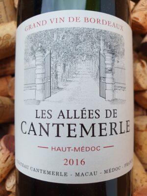Château Cantemerle Les Allees de Cantemerle Haut Medoc 2016