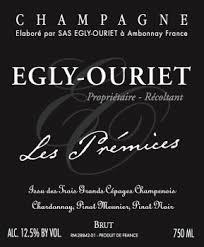 Egly-Ouriet is een gerennomeerd wijnhuis. Een echt familiebedrijf die gerund wordt Francis Egly. Hij heeft 11.7 hectare, in Ambonnay en de Montagne de Reims (waaronder Bouzy), een van der belangrijke stukken van de Champagne.