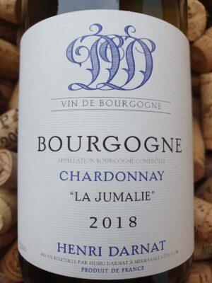"Henri Darnat Bourgogne Blanc ""La Jumalie"" 2018"