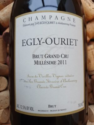 Egly Ouriet Brut Grand Cru Champagne Millesime 2011