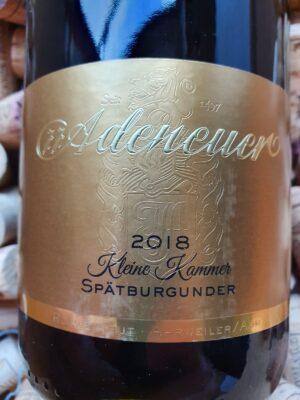 Adeneuer Kleine Kammer Spätburgunder Ahr 2018