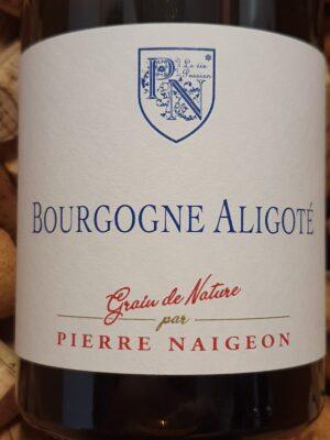 Pierre Naigeon Bourgogne Aligote 2019