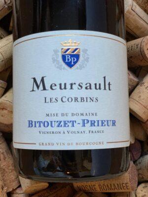 Bitouzet Prieur Meursault Les Corbins 2018