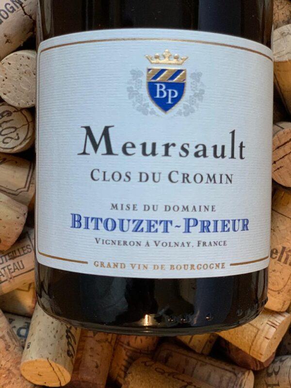 Bitouzet Prieur Meursault Clos du Cromin 2017