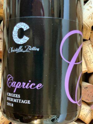 Domaine Betton Crozes Hermitage Rouge Caprice 2018
