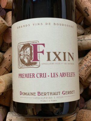 Domaine Berthaut-Gerbet Fixin Premier Cru Les Arvelets 2019