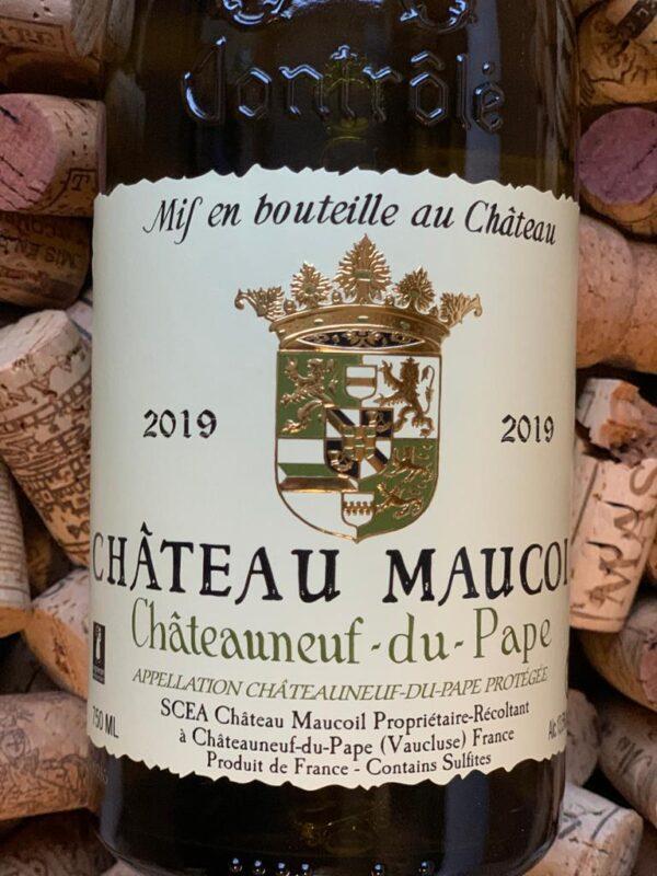 Chateau Maucoil Chateauneuf du Pape Blanc 2019