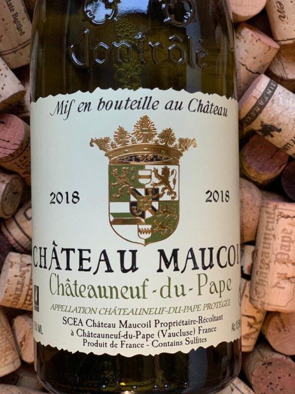 Chateau Maucoil Chateauneuf du Pape Blanc 2018