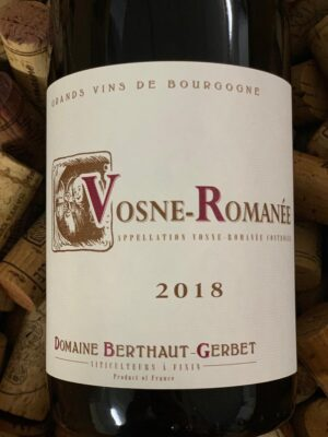 Domaine Berthaut-Gerbet Vosne Romanee 2019