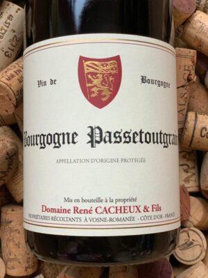 Domaine René Cacheux Bourgogne Passetoutgrain 2019