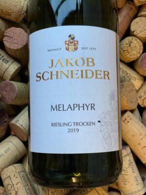 Jakob Schneider Riesling trocken Melaphyr Nahe 2019