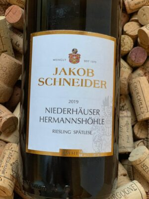 Jakob Schneider Riesling Spätlese Niederhäuser Hermannshöhle Nahe 2019