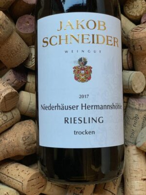 Jakob Schneider Riesling trocken Niederhäuser Hermannshöhle Nahe 2019