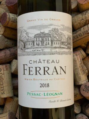 Chateau Ferran Pessac Leognan Blanc 2018