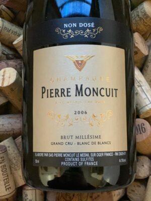 Pierre Moncuit Grand Cru Champagne Zero Dosage 2006