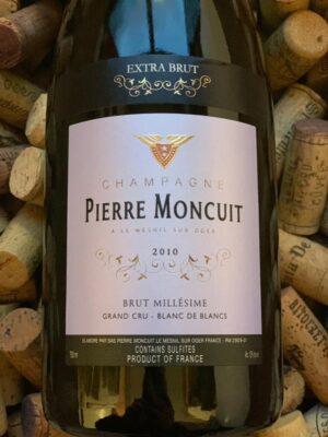Pierre Moncuit Grand Cru Champagne Extra Brut 2010