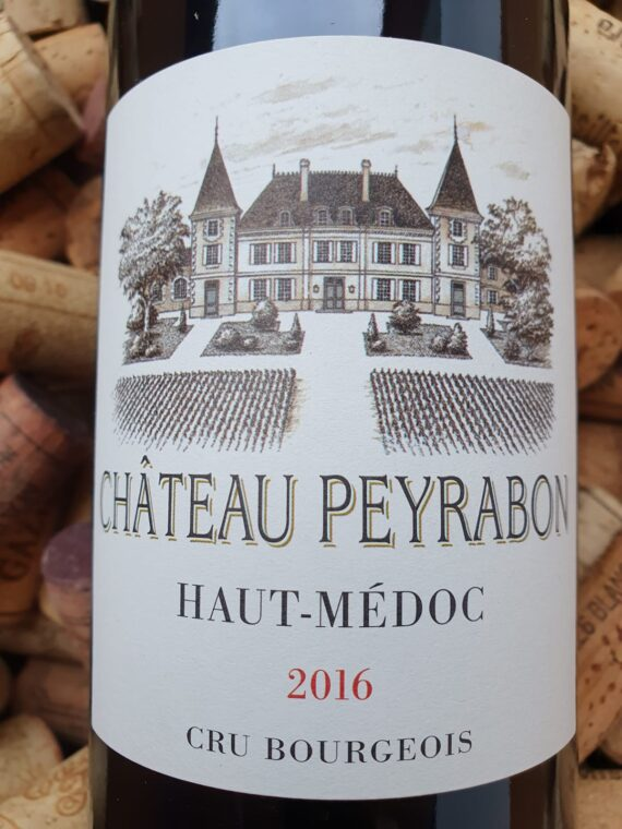 Jancis Robinson's guide to the best festive reds mentions Chateau Peyrabon!