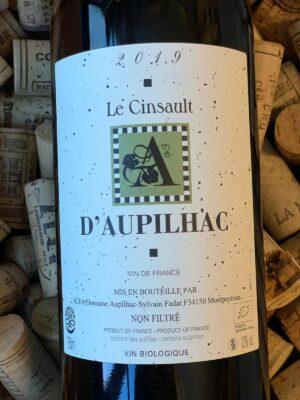 Domaine d'Aupilhac Cinsault Vin de France 2019