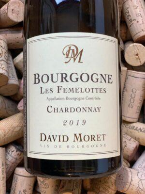 David Moret Bourgogne Chardonnay Les Femelottes 2019