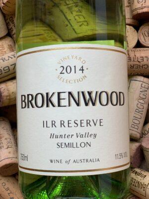 Brokenwood Semillon ILR Hunter Valley 2014