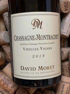 David Moret Chassagne Montrachet Vieilles Vignes 2019
