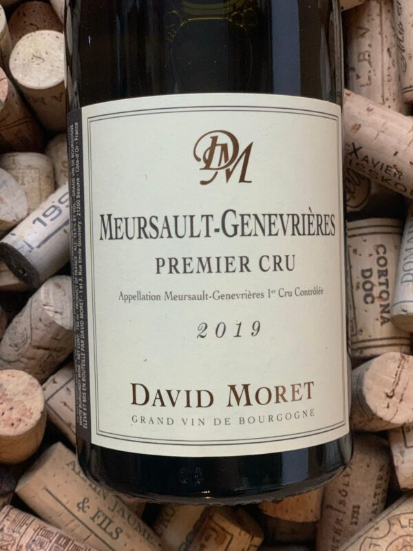 David Moret Meursault Premier Cru Les Genevrieres 2019