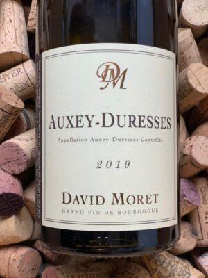 David Moret Auxey Duresses Blanc 2019