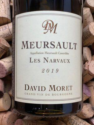 David Moret Meursault Les Narvaux 2019