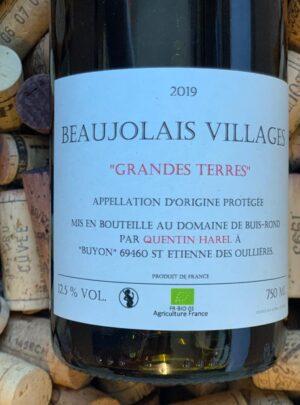 Quentin Harel Beaujolais-Villages Grandes Terres 2019