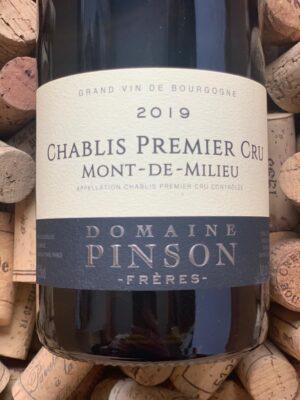 Domaine Pinson Chablis Premier Cru Mont de Milieu 2019