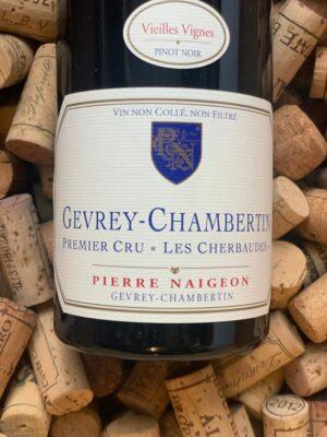Pierre Naigeon Gevrey Chambertin Premier Cru Les Cherbaudes 2015