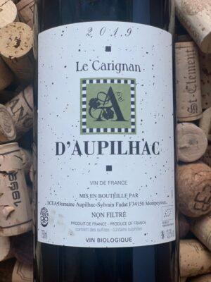 Domaine d'Aupilhac Carignan Vin de France 2019
