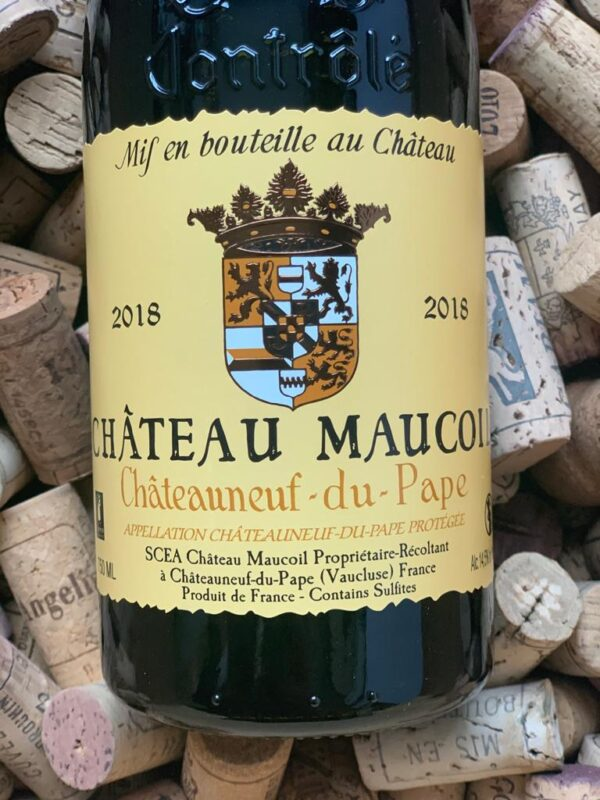 Chateau Maucoil Chateauneuf du Pape Rouge Tradition 2018