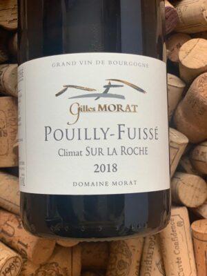 Gilles Morat Pouilly Fuissé Sur la Roche 2018