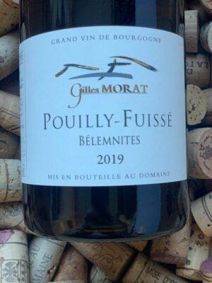 Gilles Morat Pouilly Fuisse Belemnites 2019