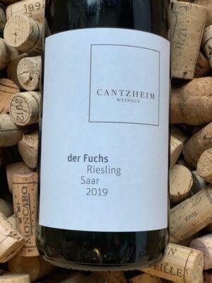 Weingut Cantzheim Riesling Saarburger Fuchs Saar 2019
