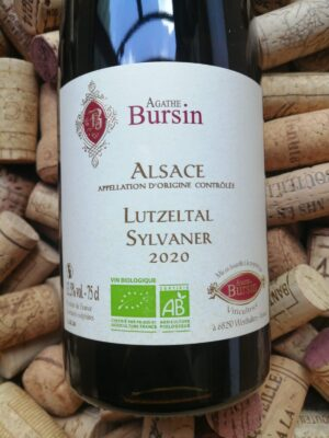Agathe Bursin Sylvaner Lutzeltal Alsace 2020