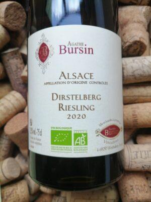 Agathe Bursin Riesling Dirstelberg Alsace 2020